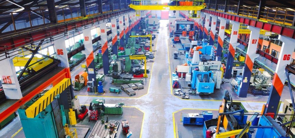 Maschinenbau Produktion neu